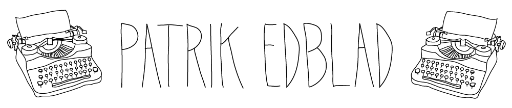 Patrik Edblad header image
